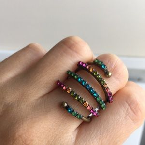 Michal Negrin Beautiful Colourful Ring